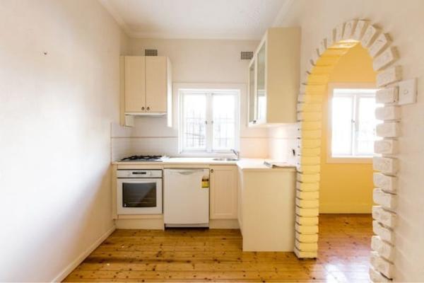 Дизайн арки между кухней и гостиной
