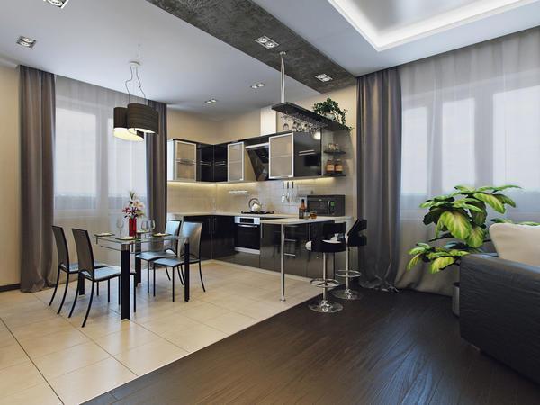 Обустройство кухни должно отвечать требованиям удобства хозяев квартиры