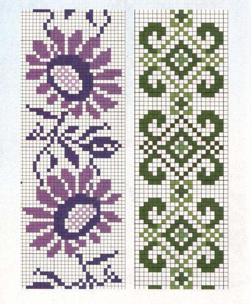 Схемы вышивки крестом: 5 секретов красивых салфеток, вышивка крестом для банок 19