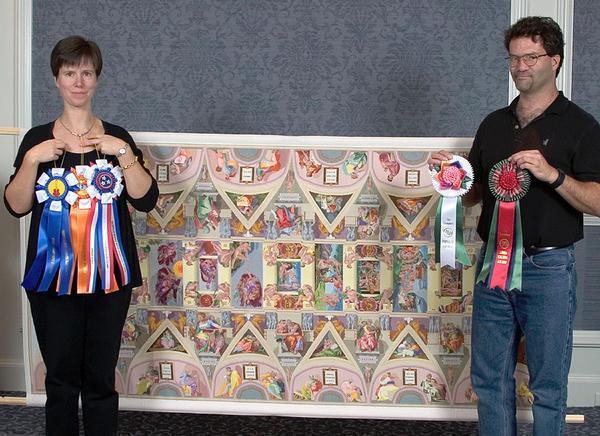 Самая большая картина в мире вышивалась десять лет