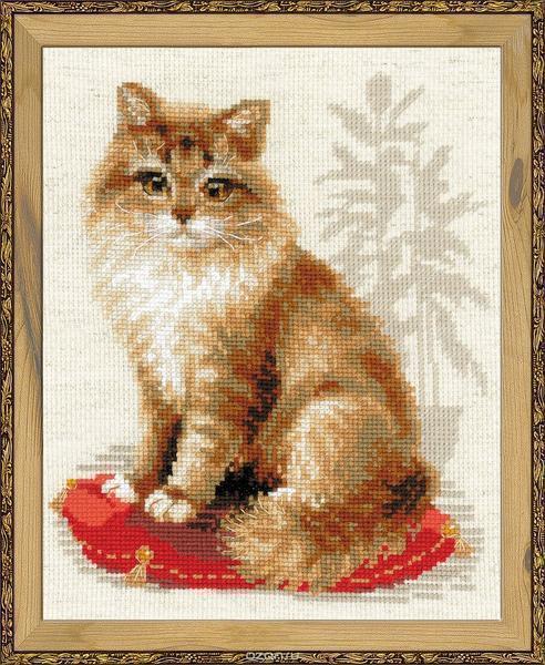 Если вы хотите сделать креативный подарок, тогда можете самостоятельно вышить красивых кошек, которые обязательно понравятся и взрослым, и детям