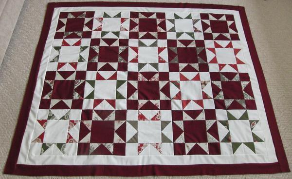 Техника звезда часто используется для изготовления лоскутных одеял и покрывал
