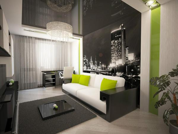 В спальне должно быть много свободного места: не следует захламлять ее ненужными вещами