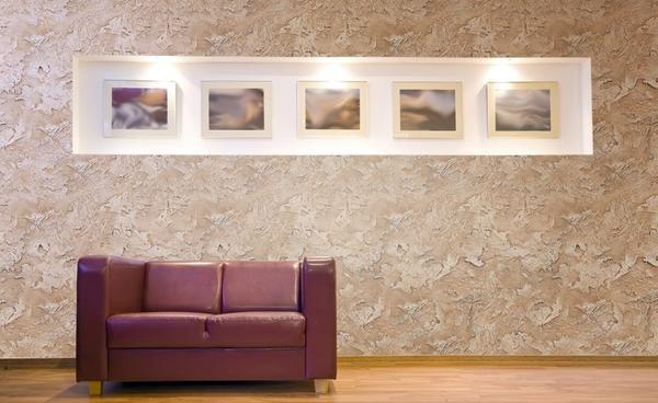 Декоративная штукатурка – экологически чистый материал, аналогичный покрытию стен обоями