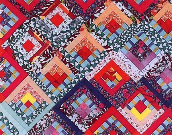 Техника русские квадраты хорошо подходит для создания ковров и других аксессуаров для украшения интерьера