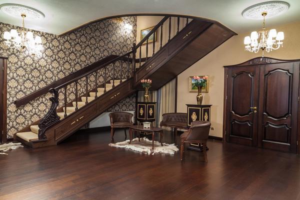 Лестница должна быть не только красивой, но и удобной