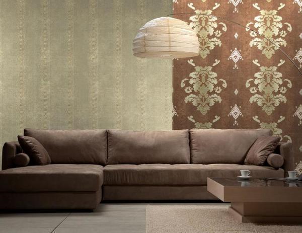 Итальянские обои различных коллекций приятно удивят богатым выбором текстур и раcцветок