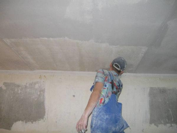 Обшивка потолка пвх панелями