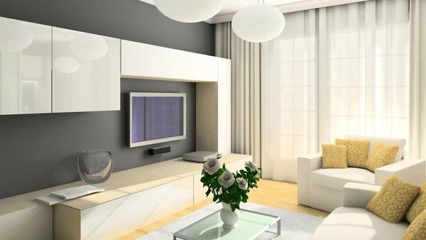 Чтобы получился идеальный и законченный дизайн гостиной, все элементы интерьера должны гармонично сочетаться друг с другом