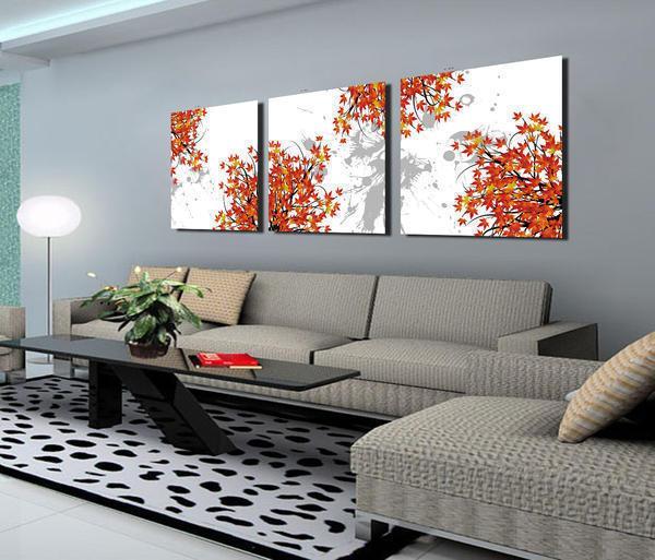 Создавая оригинальную картину из обоев, необходимо учитывать общую стилистику интерьера, освещенность, размеры помещения