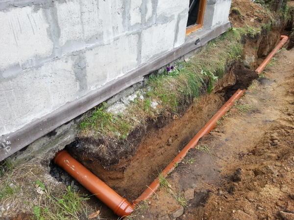 Вид применяемой канализационной системы зависит от грунта на участке