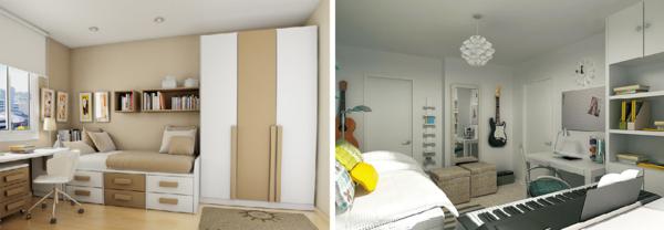 Для оформления подростковой комнаты лучше всего подойдут спокойные пастельные тона: бежевые, кремовые, песочные
