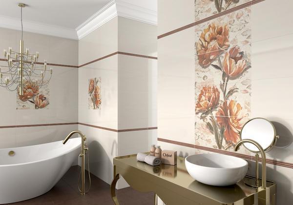 На сегодняшний день существует масса вариантов панно для ванной комнаты