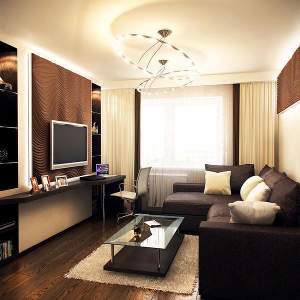 Гостиная в светлых тонах добавляет гораздо больше уюта и тепла