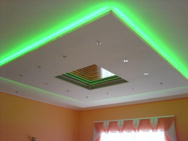 Двухуровневый натяжной потолок — дополнительная шумоизоляция и звукоизоляция