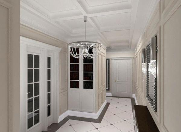 Белые двери в прихожей отлично впишутся в любой интерьер