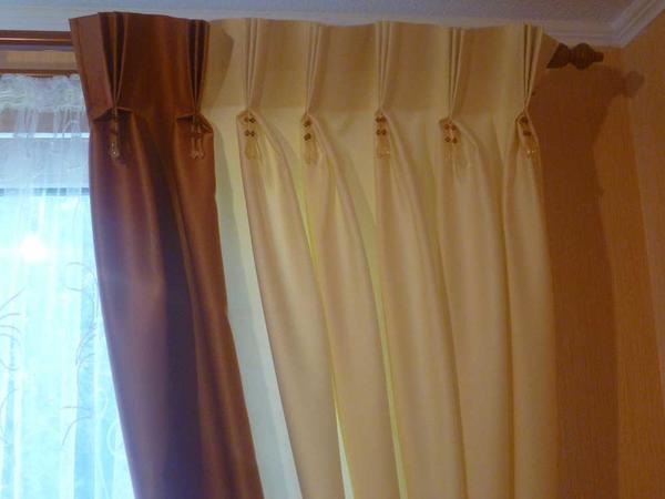 Необходимо правильно просчитать нужное количество ткани для штор