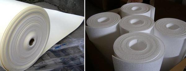 Перед покупкой подложки под обои обязательно нужно обратить на марку производителя, материал, из которого изготовлена, изучить ее характеристики