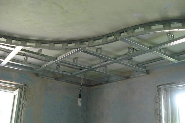 Чтобы своими руками установить карскас для двухуровневого натяжного потолка, вам потребуется весь необходимый для этого инструмент и материал