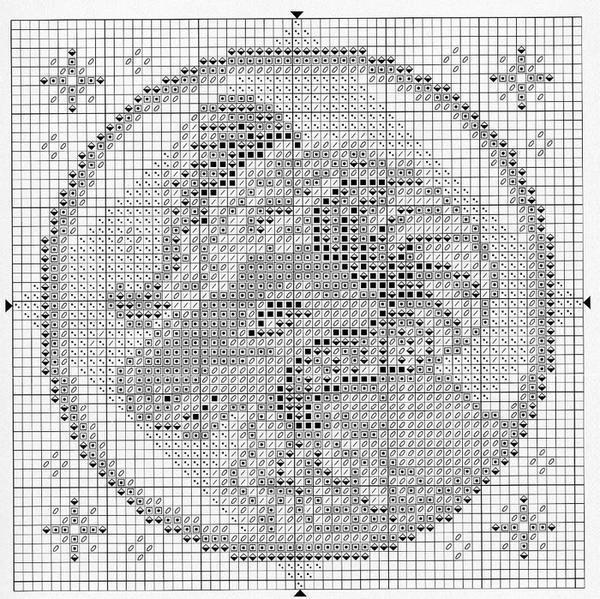 Если придерживаться простой техники вышивания крестиком, то можно легко вышить живописные созвездия