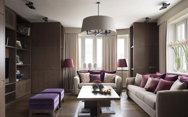 Стиль оформления для гостиной следует подбирать с учетом особенностей комнаты и личных предпочтений