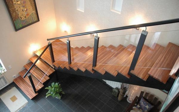 Расчет конструкции, ведущей на второй этаж зависит от характеристик помещения и стилевых особенностей его интерьера
