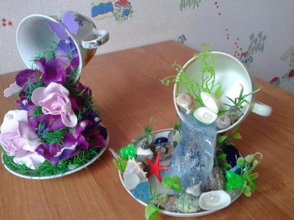 Для детей это станет очень интересным подарком, так как в детском топиарии используется много цветов и красивых предметов