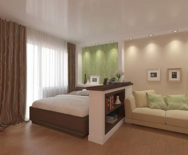 Квартиру с минимальными квадратными метрами можно не только красиво украсить, но и сделать ее уникальной