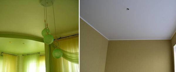 Сатиновые натяжные потолки можно выбрать любой цветовой гаммы, не обязательно, чтобы это был белый цвет