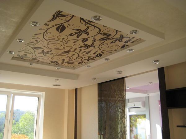 Тканевые потолки – бюджетный способ отделки потолка в квартире