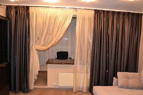 Ткань для пошива штор продается в интернете или магазине для рукоделия