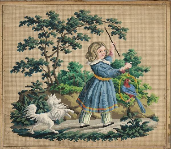 Вышивки картин крестиком были популярны, как в прошлые века, так и в наши