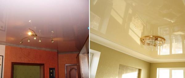 Как правило, натяжной потолок выбирают из-за его стоимости и удобства монтажа