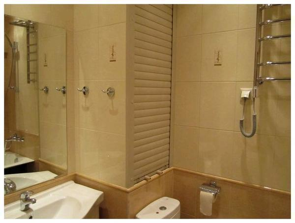 Роль-ставни прекрасно подходят для ванной комнаты и туалета
