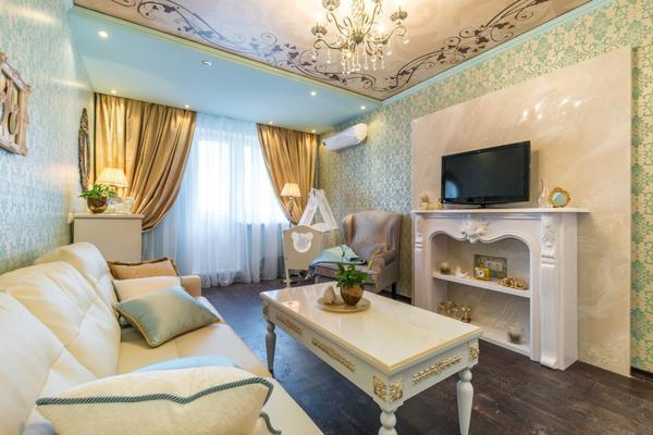 Прекрасно гостевая комната будет смотреться в светлых и теплых оттенках