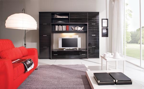 Необходимо правильно подобрать мебель для зала, чтобы она была удобной, и в тоже время дополняла дизайн комнаты