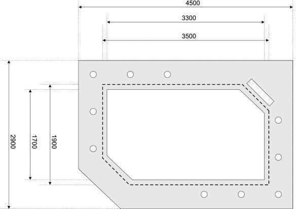 Для расчета необходимого материала на потолок из гипсокартона рекомендуется сделать эскиз потолка