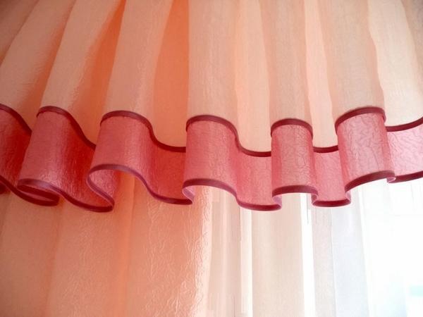 Как укоротить шторы не обрезая: ровно отрезать рулонные по ширине, видео и фото, тюль и нитяные длинные