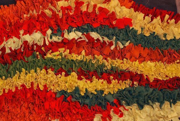 С древних времен лоскутное шитье в технике ляпочиха использовалось для создания одежды