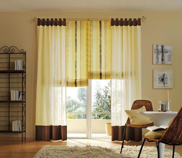Для удлинения штор можно воспользоваться универсальным способом, который подразумевает удлинение полотна сверху