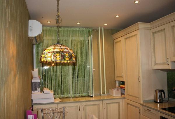Нитяные шторы на кухне фото: кисейные занавески это нити, кисея в интерьере, ниточные варианты оформления