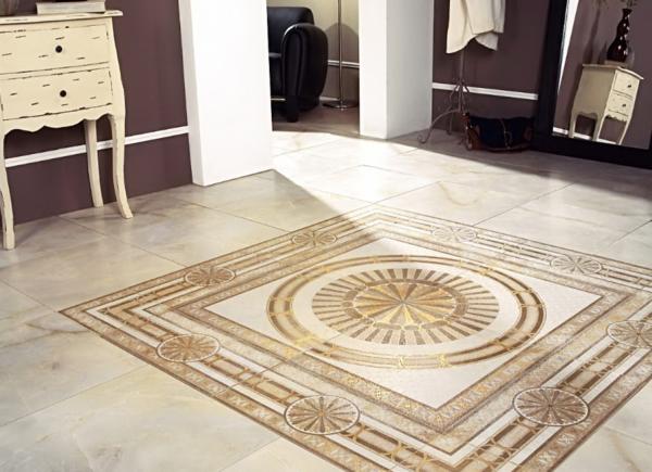 Керамическая плитка обладает массой преимуществ, среди которых следует отметить удароустойчивость и красивый внешний вид