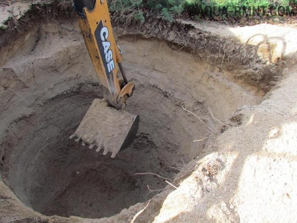 Глубину выгребной ямы следует делать в зависимости от того, сколько людей проживает в доме