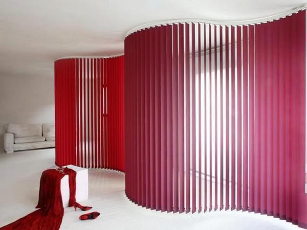 Tende Per Ufficio Verticali Prezzi : Tende verticali tessuto nella foto d interni