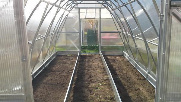 Грядки, оборудованные подогревом, позволяют выращивать растительные культуры даже зимой