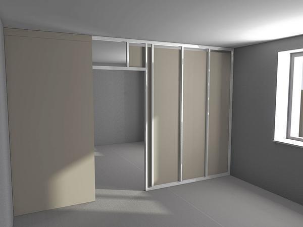 Форма и размер гипсокартонного дверного проема, как правило, зависит от размера и особенностей дизайна помещения