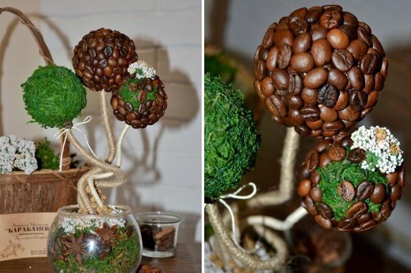Если вы хотите изготовить красивое и ароматное дерево, тогда вам обязательно понадобятся кофейные зерна