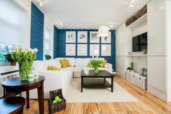 Для того чтобы гостевая комната была гармоничной, можно обставить ее красивой мебелью и декоративными элементами