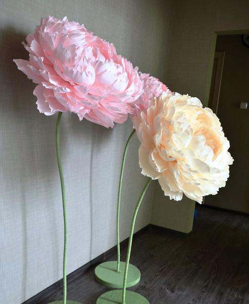 Бумажные цветы - это возможность быстро и оригинально украсить комнату