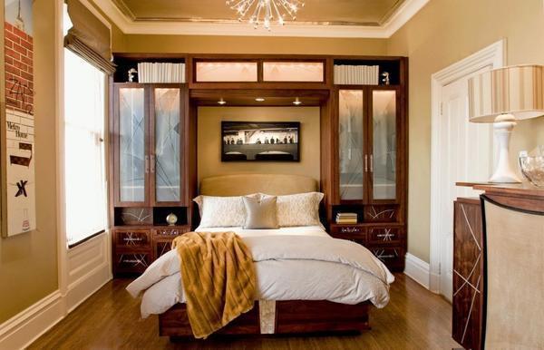 Подобная мебель отлично экономит место и смотрится очень стильно